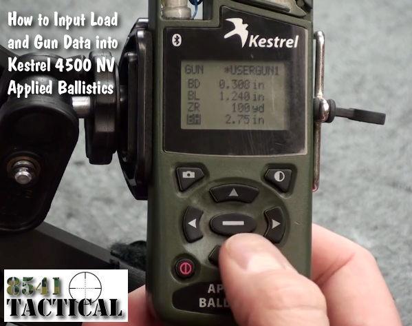 Kestrel 4500 Applied Ballistics Manual