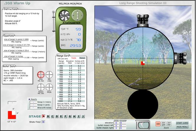 Программа для улучшения точности стрельбы